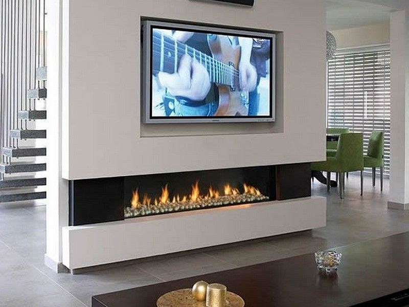 gas fireplace television above Google Search Pinteres
