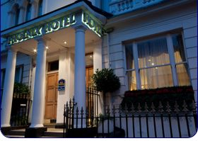 The Phoenix Hotel 1 8 Kensington Garden Square London England W London Hotels Hotel Kensington London