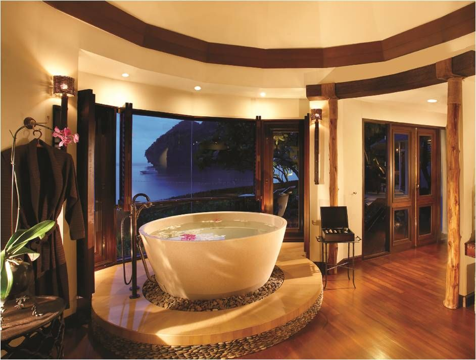If Unusual Restaurants Luuurrrvely Bathrooms And Huge Protruding Rocks Are Your Thing Then Krabi Thailandthailand Honeymoonhotels