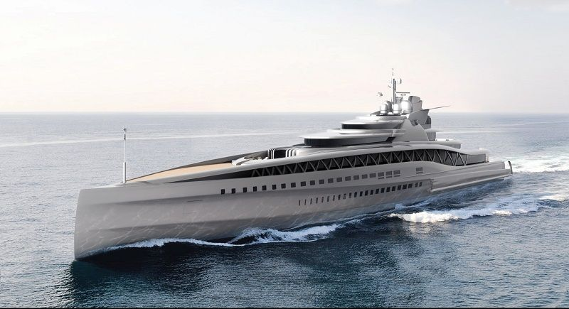 New 88m And 145m Superyacht Designs From Fincantieri Boat Yacht
