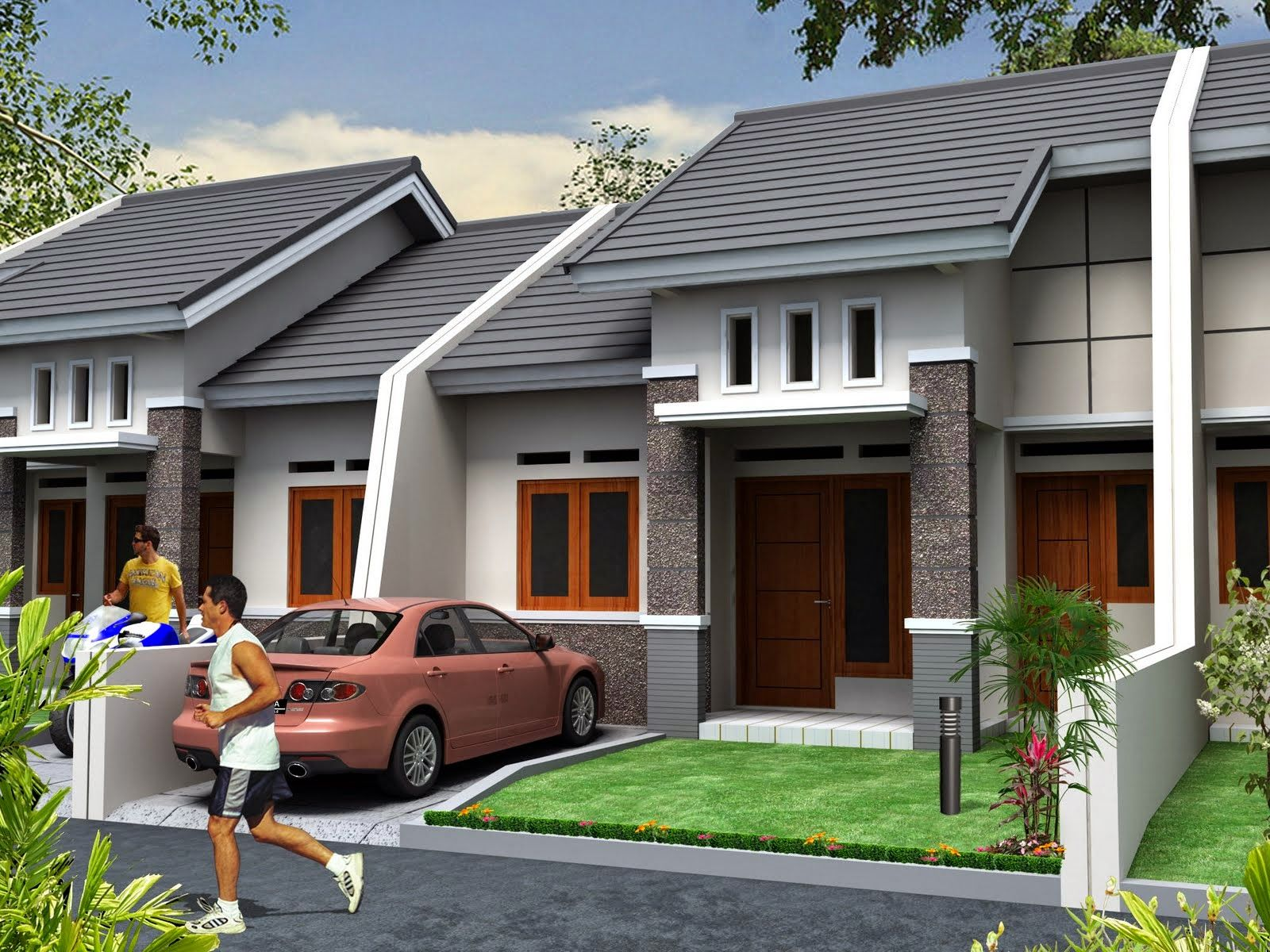 Desain Rumah Minimalis Luar Negeri Cek Bahan Bangunan