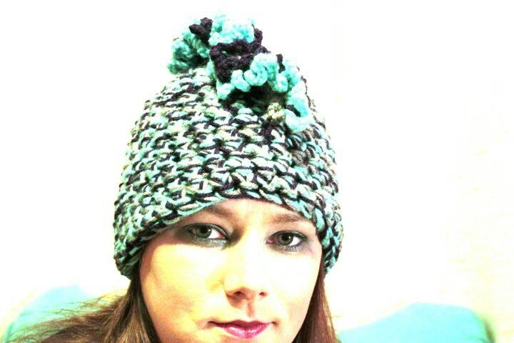My Mohawk crocheted hat | Crochet | Pinterest
