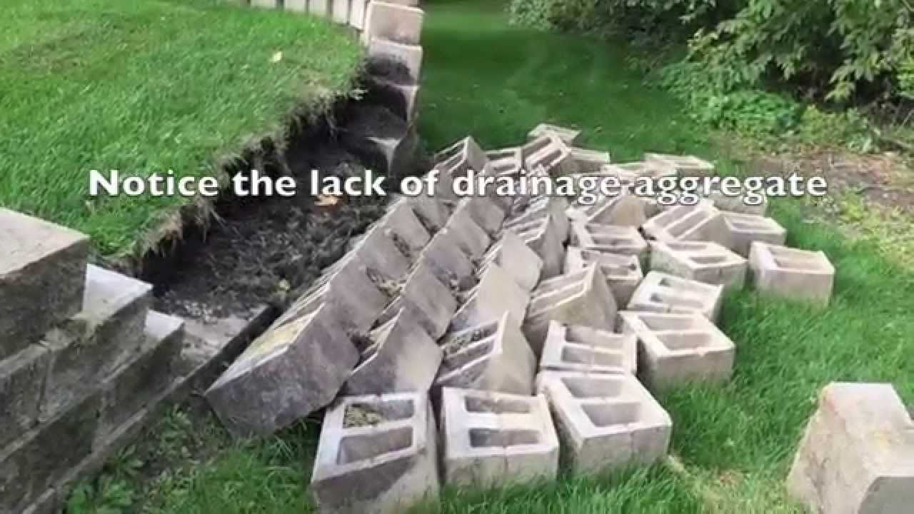 How To Build A Retaining Wall And Why They Fail