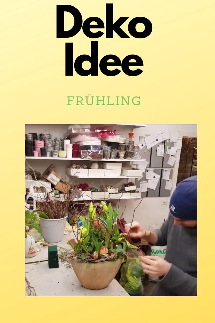 Photo of Deko Idee Frühling