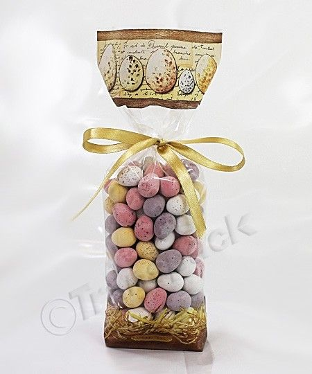 Easter egg cellophane bag cookie gifts pinterest easter egg easter egg cellophane bag negle Choice Image