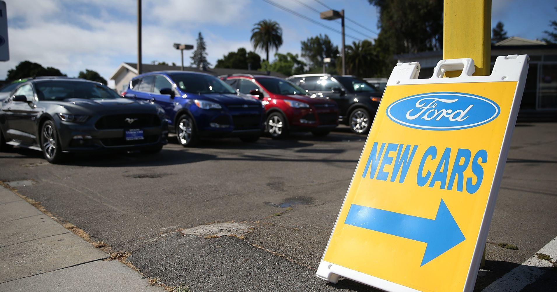 US auto sales are falling as prices for new vehicles jump