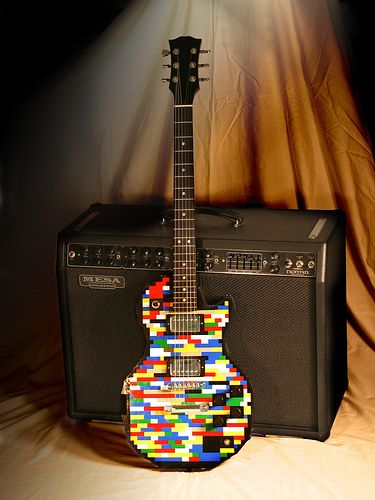 LEGO Guitar! Playing the Guitar just got so much cooler! | Miss ...