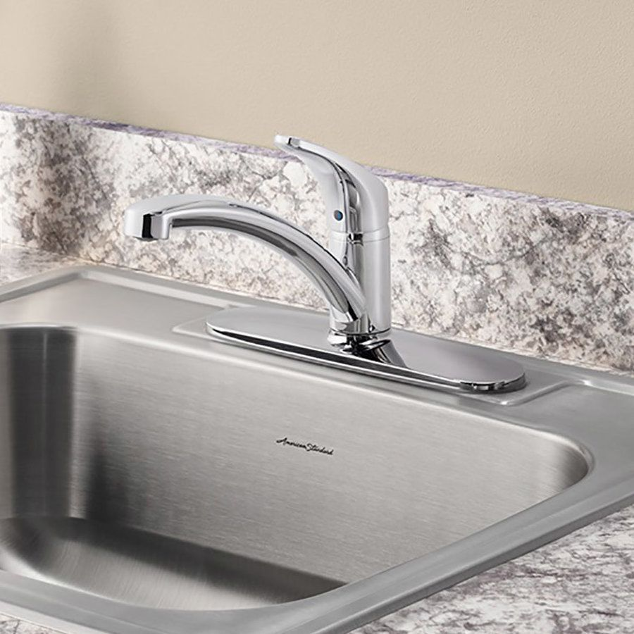 Colony pro single handle kitchen faucet with side spray kitchen