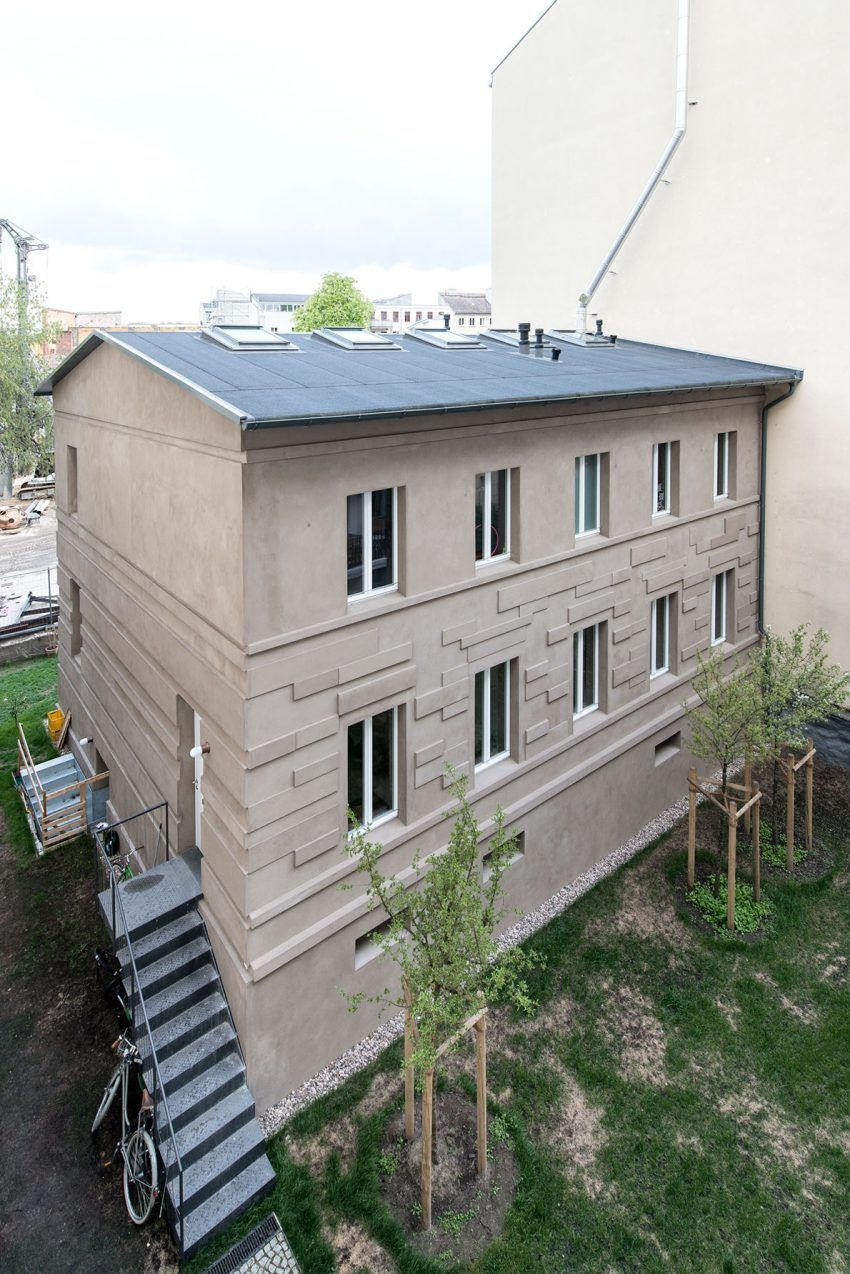 Architekt In Berlin müllerhaus metzerstrasse berlin by asdfg architekten in berlin
