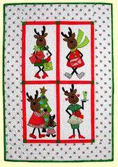 Merry Mrs. Reindeer