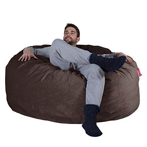 LOUNGE PUG   Velvet   CLOUDSAC   Huge Memory Foam GIANT Bean Bag SOFA   1000