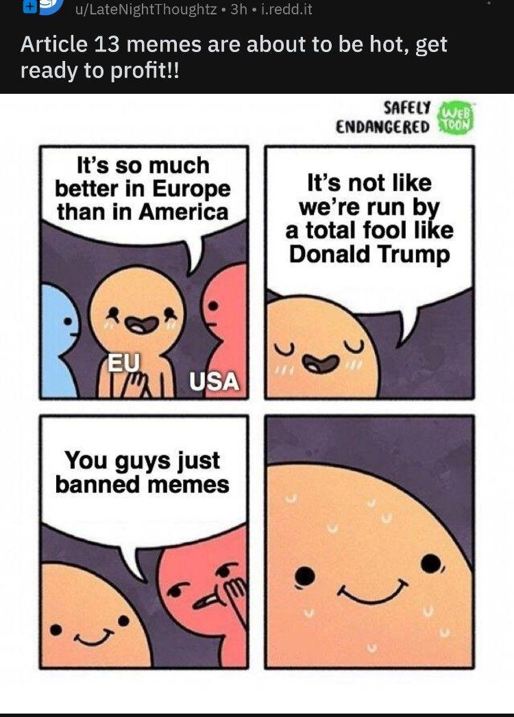 20 Banned Eu Memes Memes Humor Funny Clothes Shirts Coolstrange Cool Strange Mr Robot Memes Funny Memes