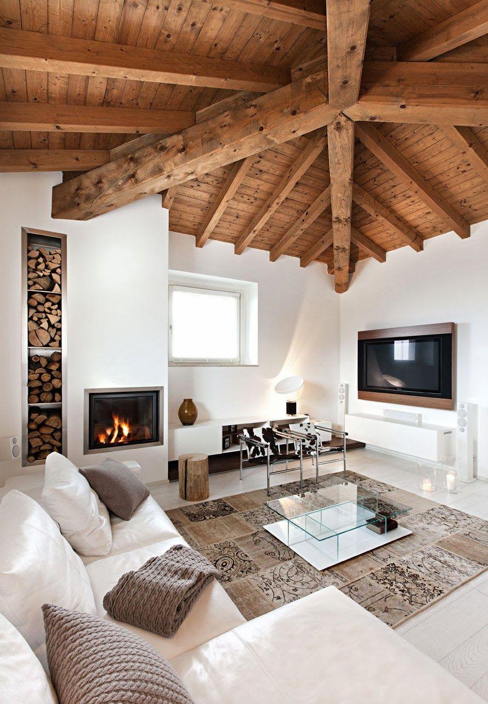 Nuovo e antico ecco un mix riuscito design that i love for Arredamento case antiche