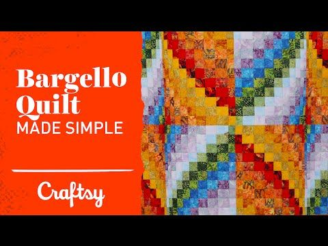 Bargello quilt project made simple | Quilting Tutorial with Angela ... : youtube quilting ideas - Adamdwight.com