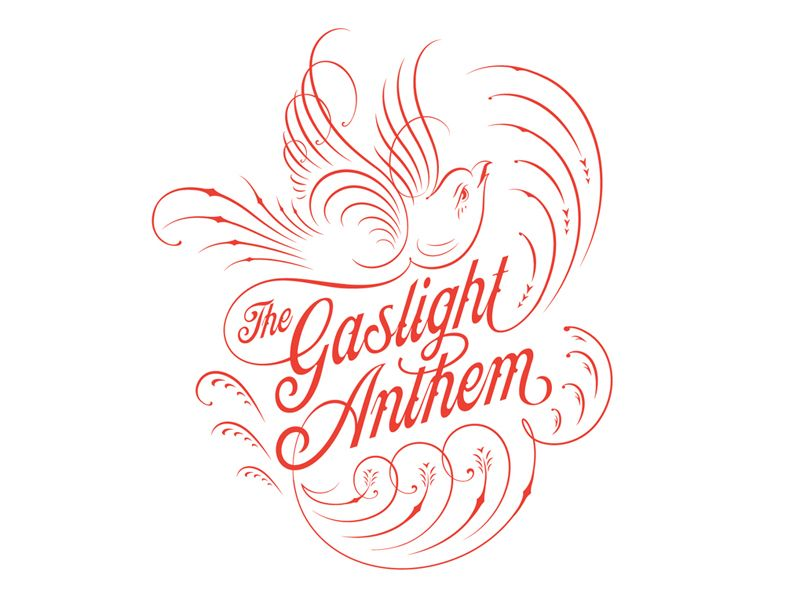The Gaslight Anthem | {Lettering, Handwriting, Calligraphy