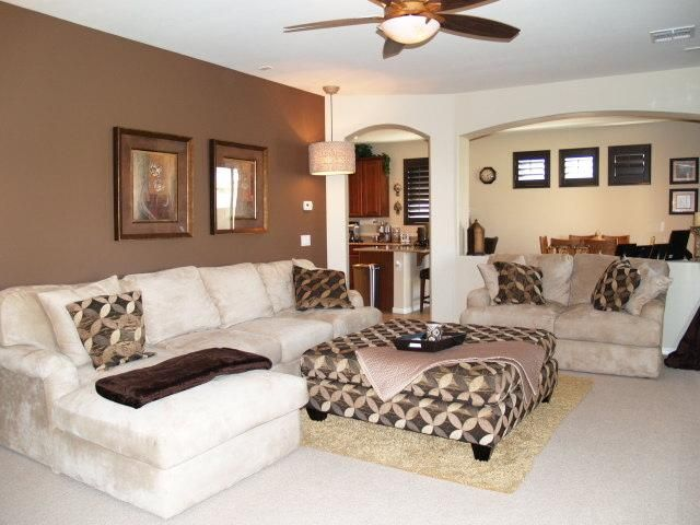 Large Family Room Design Ideas Part - 23: Explore Brown Paint Colors, Large Family Rooms, And More!