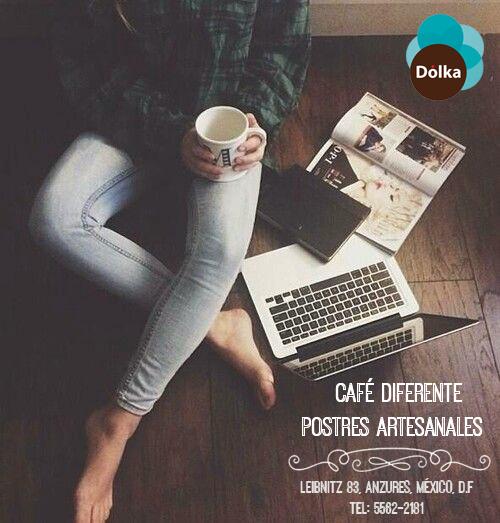 Café diferente, postres artesanales. #Dolka #Polanco #Gourmetmx