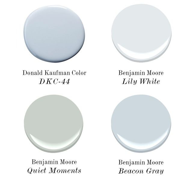 Best light blue paint colors paint colors quiet moments for Benjamin moore light green