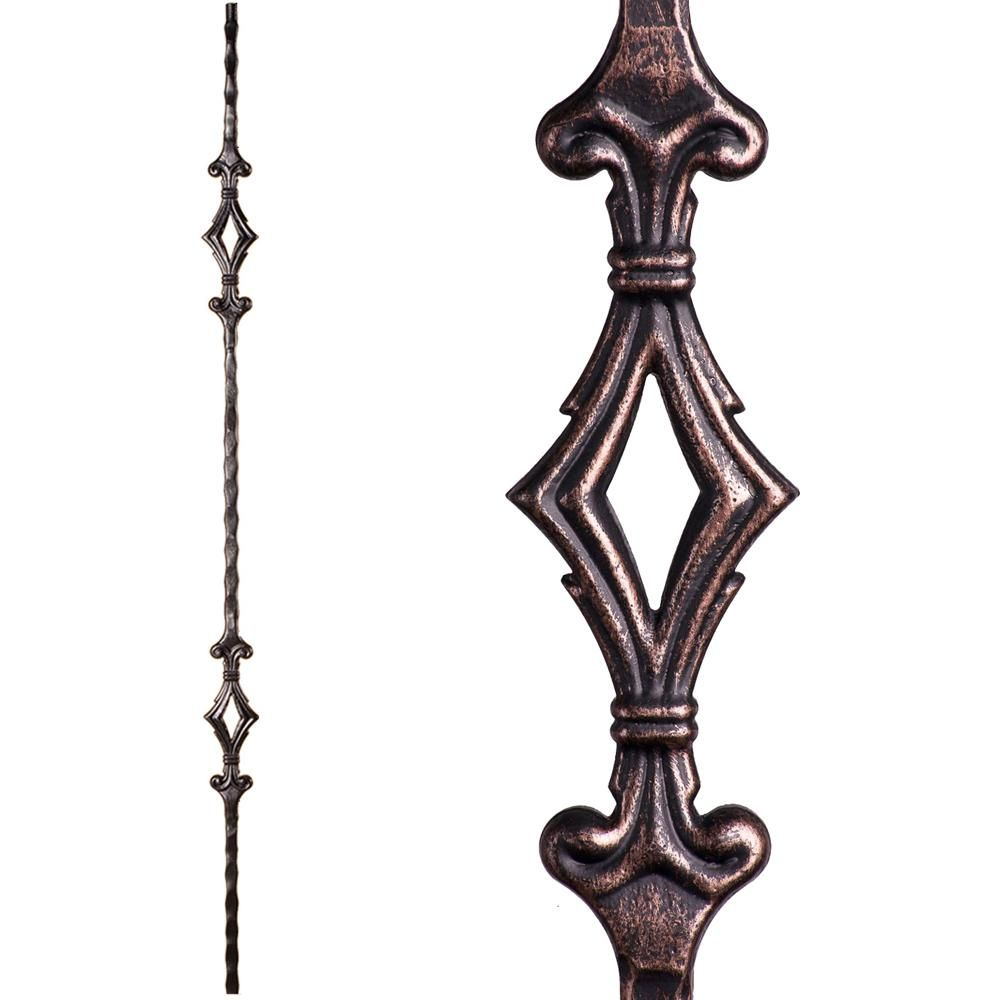 Best House Of Forgings Tuscan Square Hammered 44 In X 5625 400 x 300