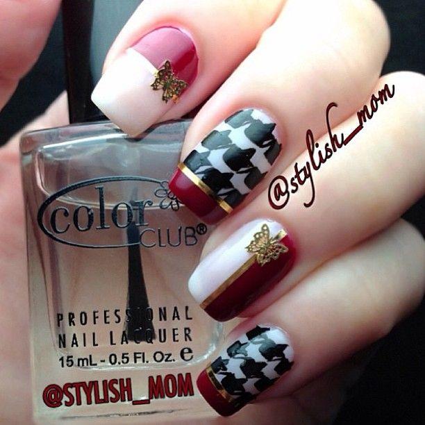 Nail Art Dan Extension Kuku: Instagram Photo By Stylish_mom #nail #nails #nailart