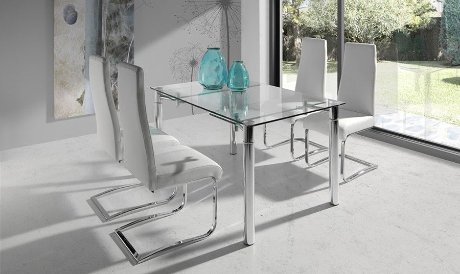 mesa de comedor de vidrio - Buscar con Google | Decoración ...