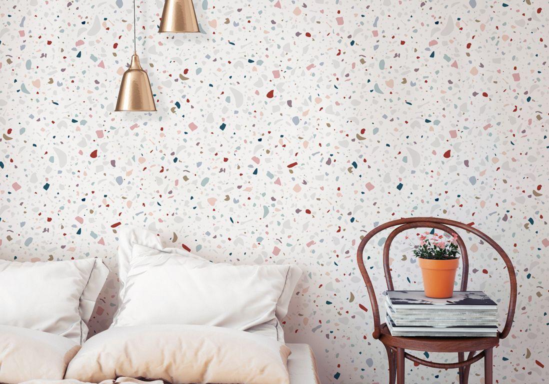 25 superbes papiers peints pour la chambre elle d coration papier peint elle d coration et. Black Bedroom Furniture Sets. Home Design Ideas