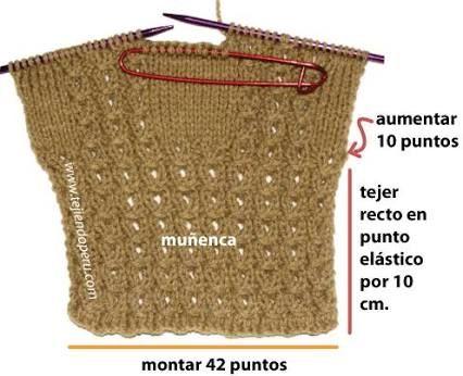 Resultado de imagen para guantes sin dedos con capucha al crochet y ...