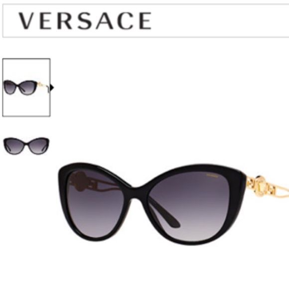 0fe2f89b8740 100%Authentic Versace Sunglasses VERSACE VE4295 57 Brand-new  VERSACE Frame  Style  Cat Eye Lens Feature  GRADIENT POLAR Eye Bridge Temple  57 16 140  Case or ...