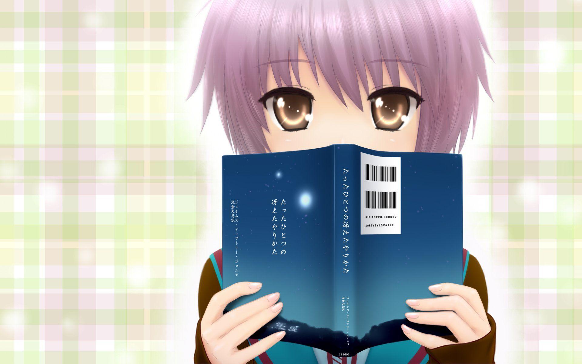 Anime The Melancholy Of Haruhi Suzumiya Yuki Nagato Wallpaper