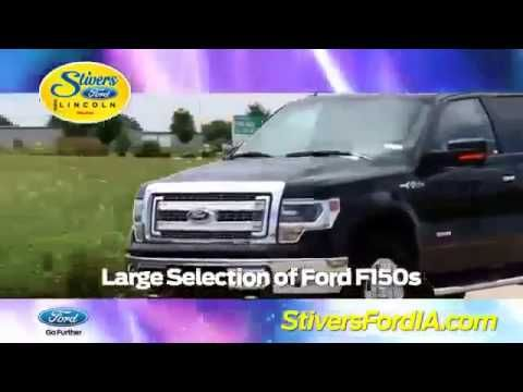 Ford F150 Urbandale Ia Stivers Offers Superior Sales Service
