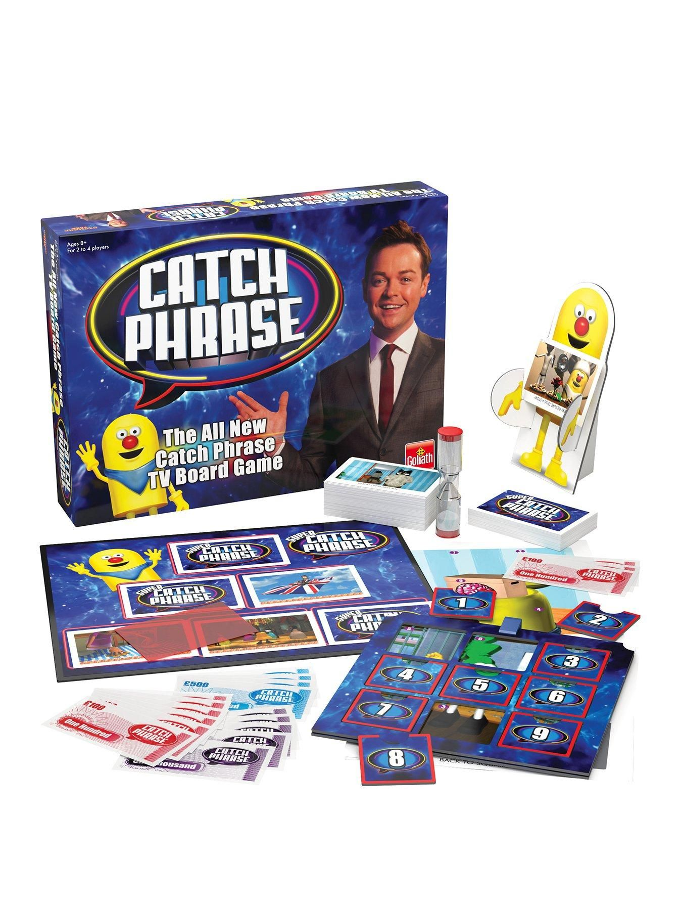 Vivid Games Catch Phrases Board Game in 2020 Tv show