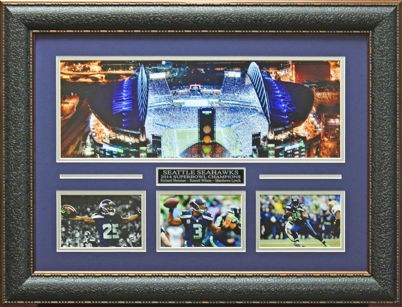 Seattle seahawks panoramic collage display seahawks seattle and seattle seahawks panoramic collage display jeuxipadfo Choice Image