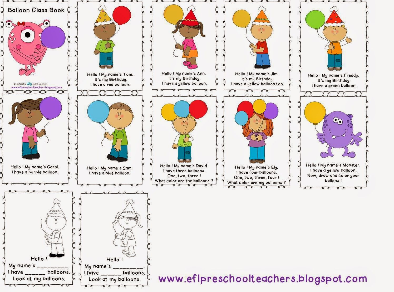 Balloon Theme For The Ell