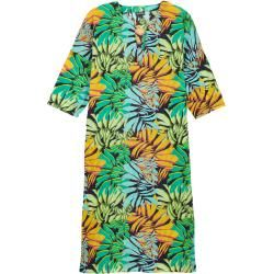 Damen Ready to Wear - Langes Solid Jungle Kleid aus Baumwollvoile für Damen - Cover Up - Fare - Blau
