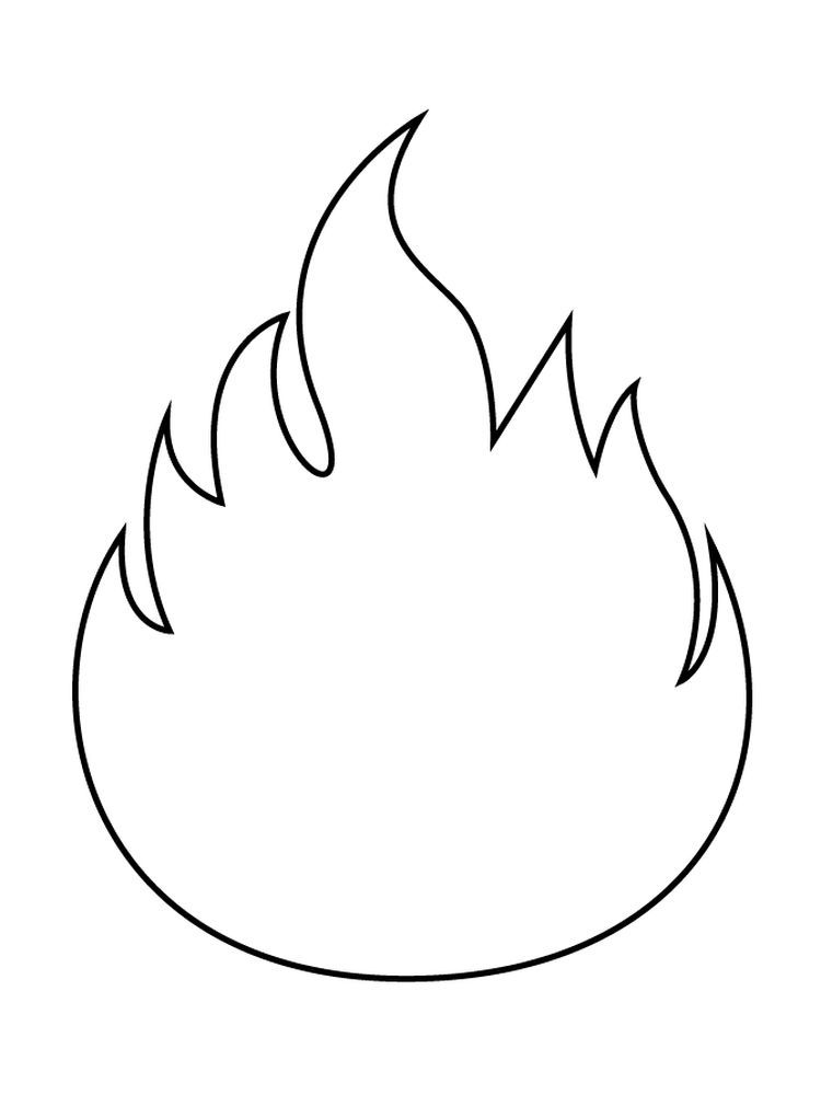 Coloring Page Firefighter Fire Crafts Coloring Pages
