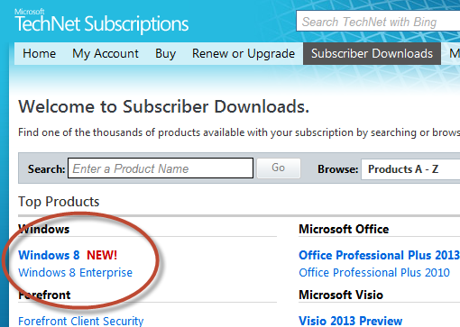 Now available! Windows 8 RTM hits MSDN and TechNet for download