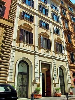 The baileys hotel in rome rome for Kleine boutique hotels
