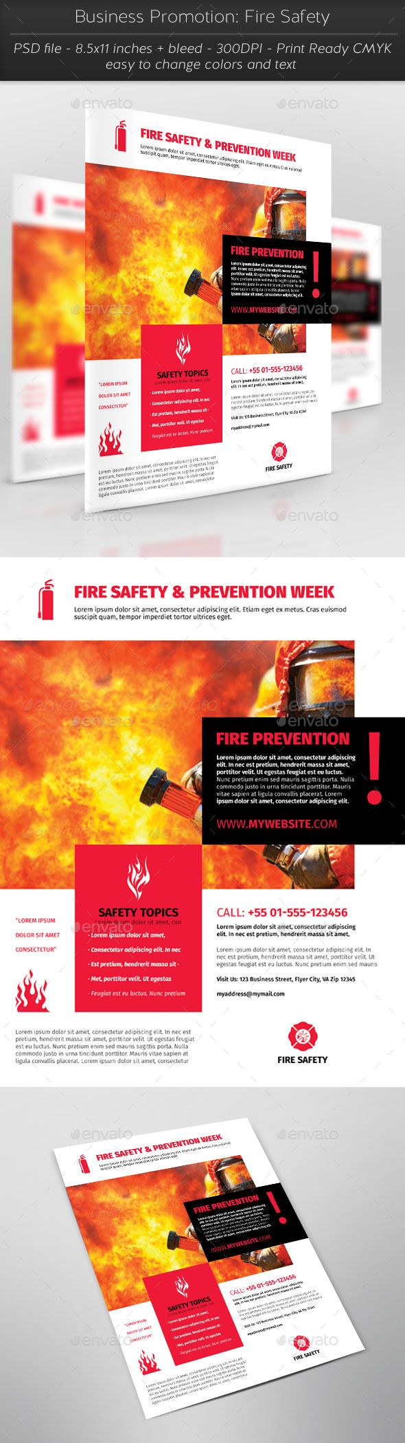 Business Promotion Fire Safety (With images) Business