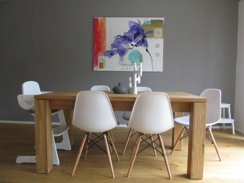 alles neue macht der mai tags esstisch graue wand eames - Eames Stuhl Replik