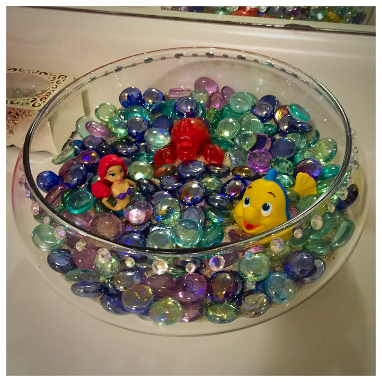 Little Mermaid Bathroom Decor