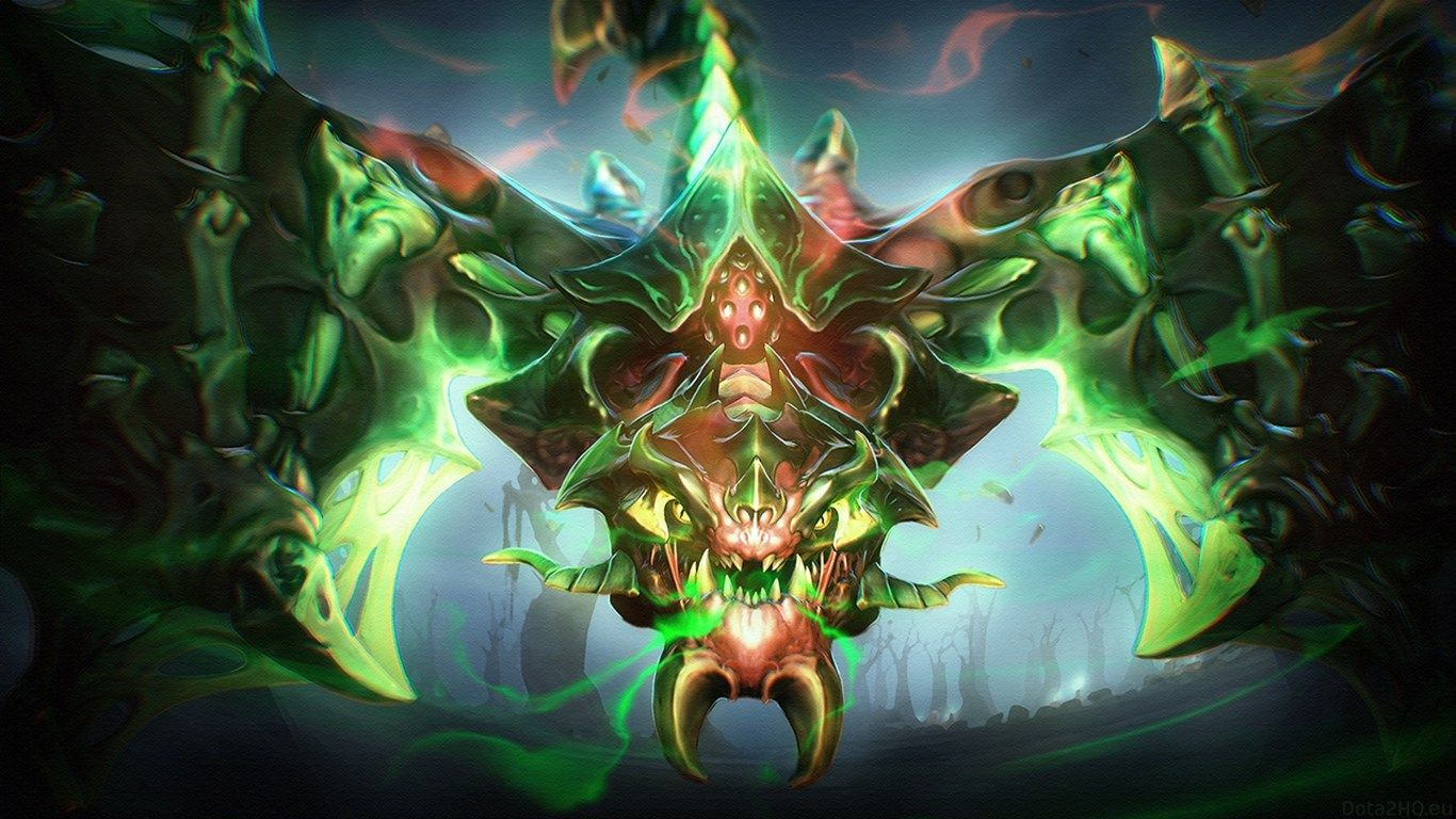 1366x768 Viper Dota 2 Wallpaper Hd Dota2 Pinterest Dota 2