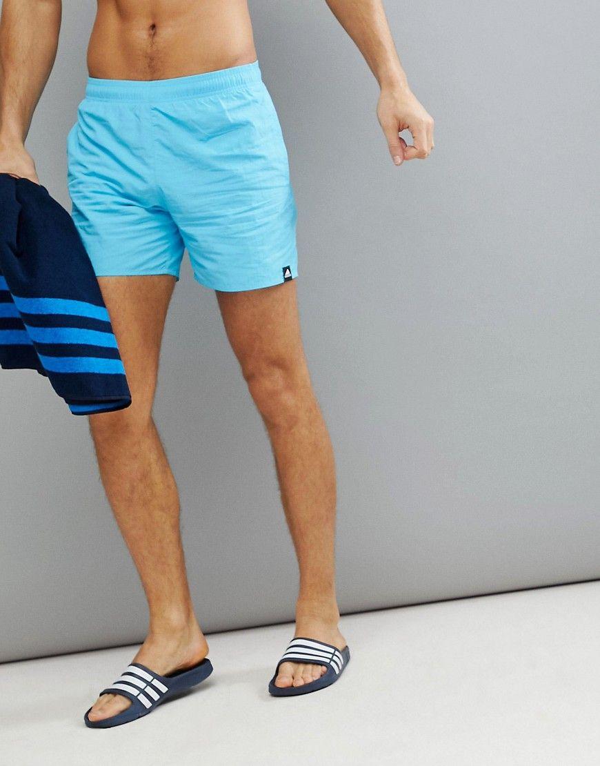Adidas shorts de baño en azul cv5130 azul adidas Originals hombres