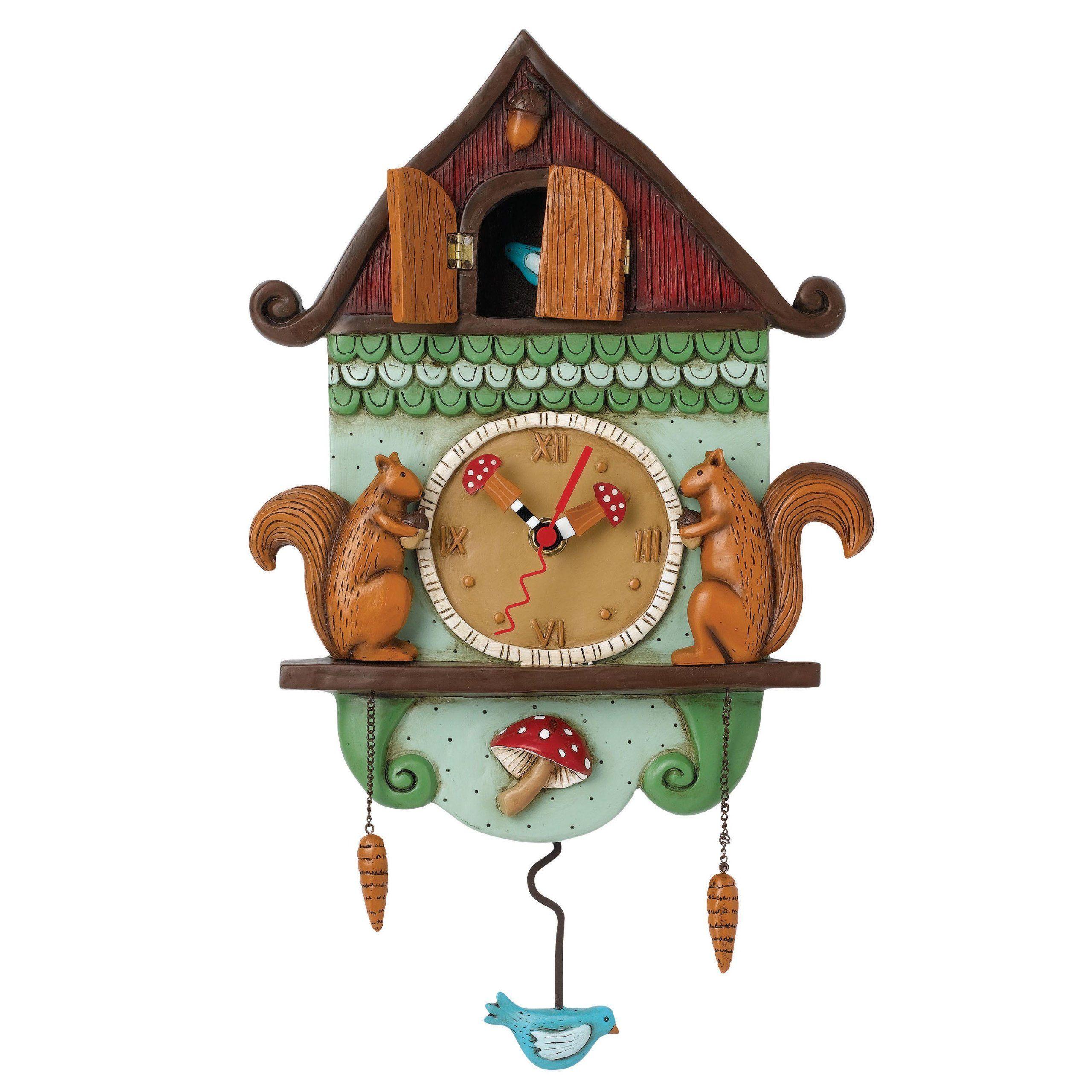Amazon Com Allen Designs Cuckoo Bird Clock P1054 Clock Pendulum Whimsical Cuckoo Clock Pendulum Wall Clock Clock