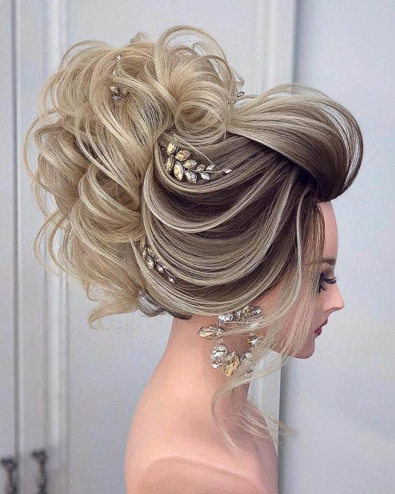 Photo of 102 Beautiful Wedding Hairstyles and Bridal Hair Ideas