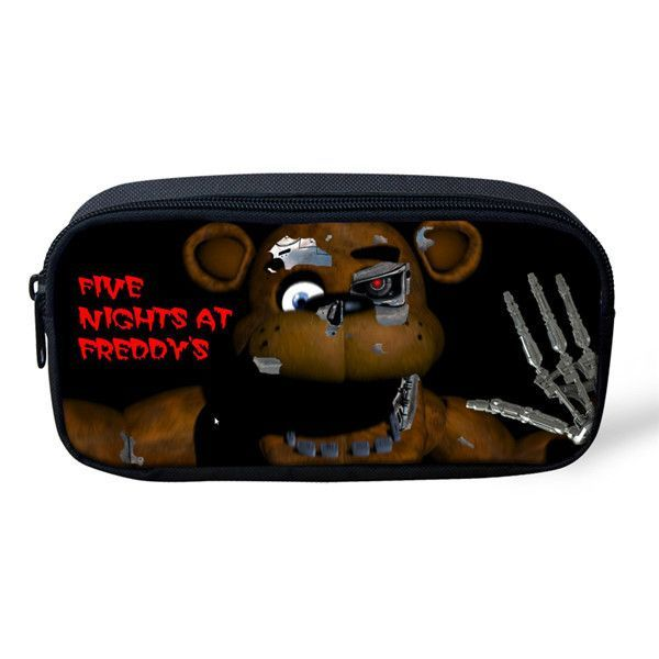 Cute Cartoon Pencil Case For Girls Boys Five Nights At Freddys Kids