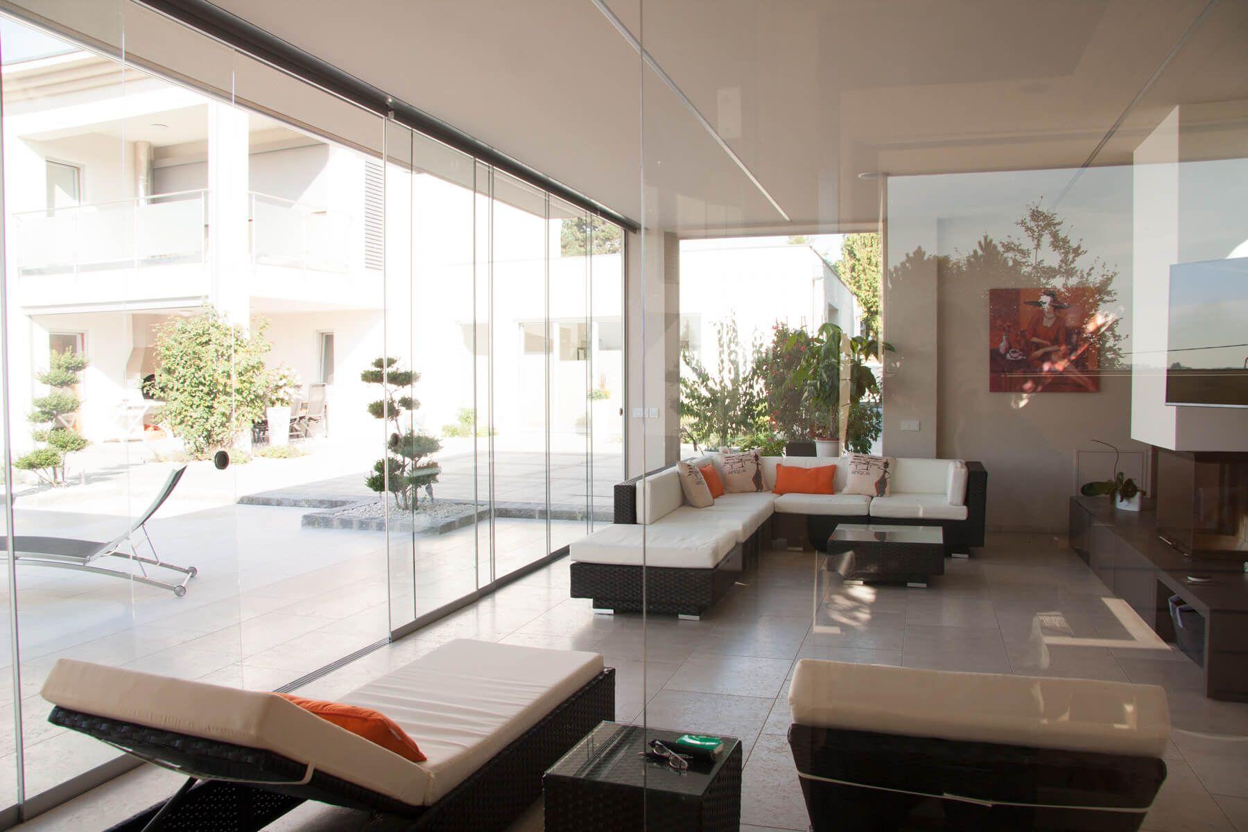 Glasschiebewand Terrasse Preis Umbau Terrasse Pinterest