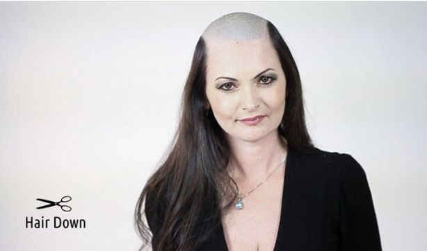 Pin By David Connelly On Bald Women 08 Long Hair Designs