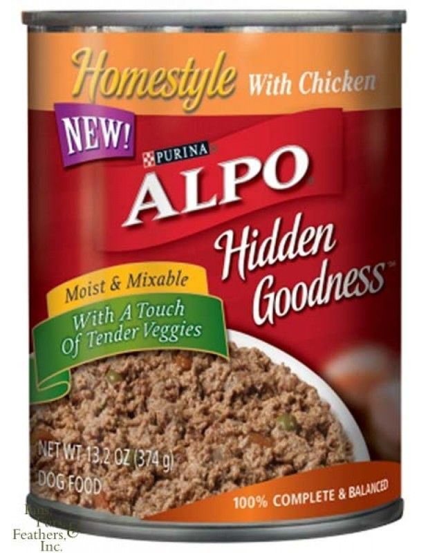 Purina Alpo Hidden Goodness Homestyle With Chicken Canned ...