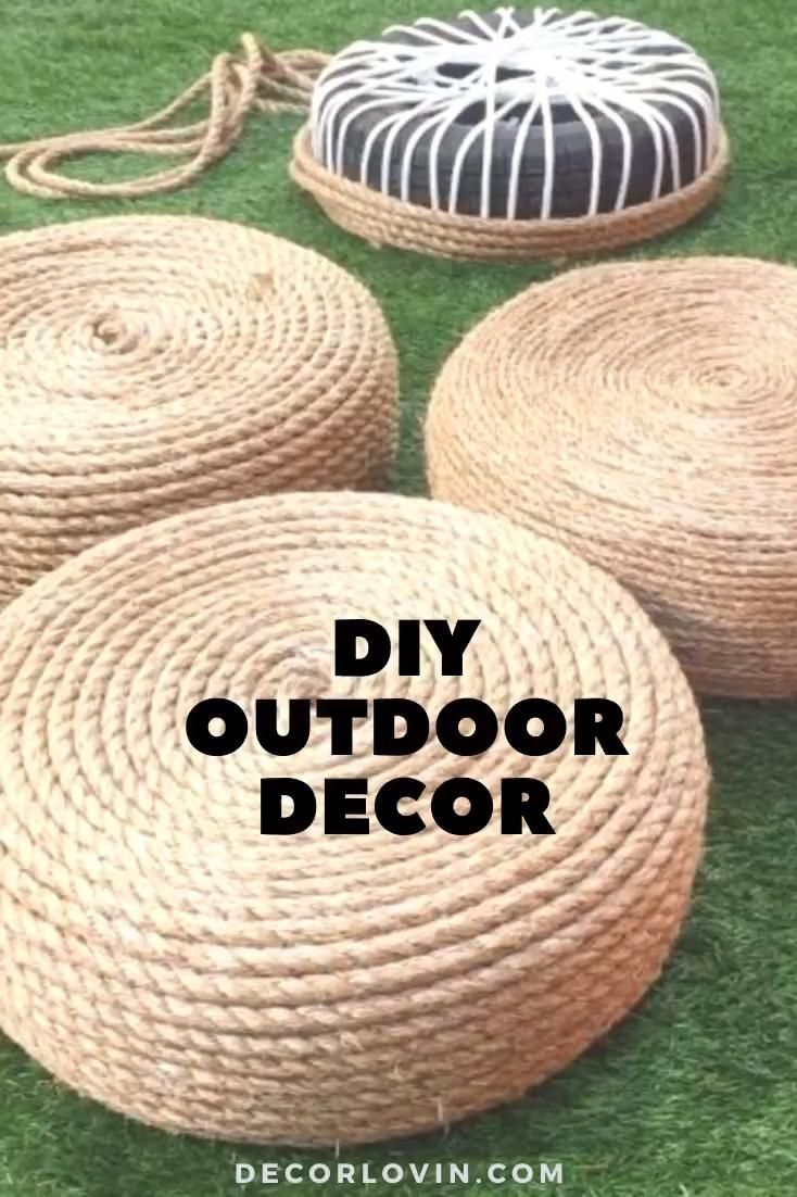Photo of DIY Outdoor Decor To Spruce Up Your Backyard