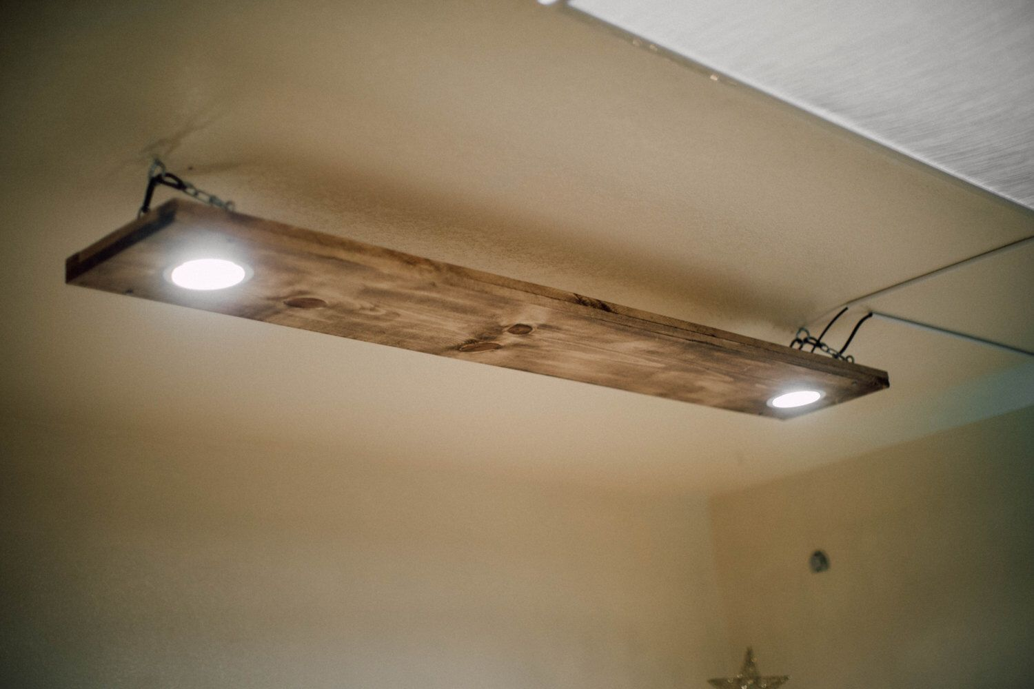 Wood Ceiling Light Fixture Led Recessed Lighting Local Pick Up